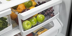 Bacs à légumes FreshLock™ à humidité contrôlée