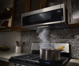 1 Cu Ft Low Profile Microwave Hood Combination