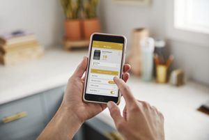 Smart features available with connected subscription