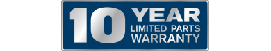 Receive coverage with a 10-year limited parts warranty on Maytag appliances.