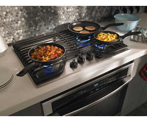 Stainless Steel 30 Inch Gas Cooktop