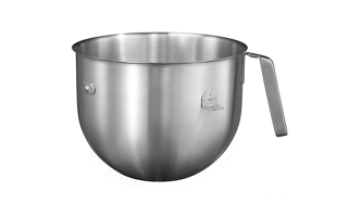 Ultra large 6.9 L stainless steel bowl