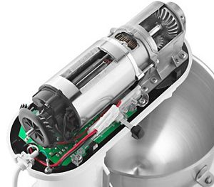 1.3 HP High efficiency motor with direct drive.