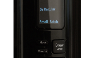 Small Batch Brew Mode