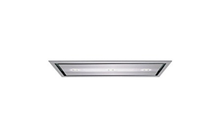 The flush mounted ceiling hood