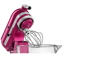 Rasberry Ice Artisan Design Series 5 Quart Tilt Head Stand Mixer