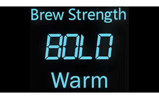 Variable Brew Strength Selector