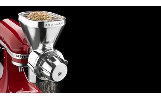 Easily Grinds Low-Moisture Grains