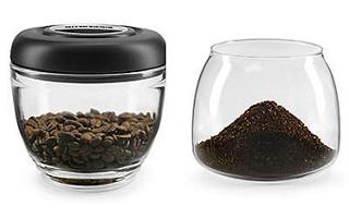 7 Oz Glass Bean Hopper And Grind Jar