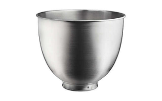 3.5 Quart Brushed Stainless Steel Bowl