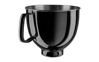 5 Quart Black Stainless Steel Bowl