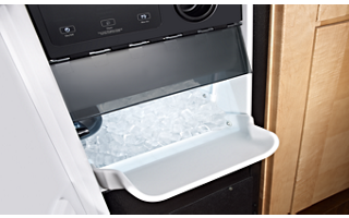 Stainless Steel 15'' Automatic Ice Maker KUIX505ESS | KitchenAid on refrigeror ice water filter, kenmore ice and water filter, kitchenaid fridge filter replacement, whirlpool ice and water filter,