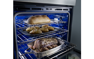 Even-Heat™ Ovens with Thermal Bake/Broil (both ovens)