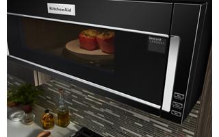 1000 watt low profile microwave hood combination