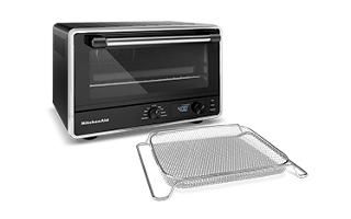 Black Matte Digital Countertop Oven With Air Fry Kco124bm
