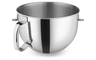 6 Quart Stainless Steel Bowl with Comfortable Handle