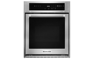 stainless steel 24 double wall oven with true convection kodc304ess rh kitchenaid com