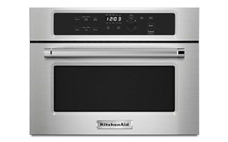 stainless steel 24 built in microwave oven with 1000 watt cooking rh kitchenaid com