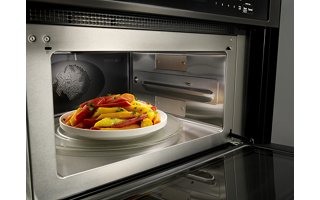 Microwave Convection Cooking (upper oven)