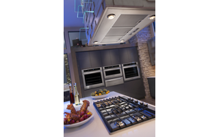Compatible with Cooking Surfaces up to 108,000 BTUs