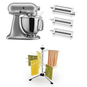 Exclusive Artisan® Series Stand Mixer & Pasta Attachments Set