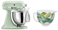 Exclusive Artisan® Series Stand Mixer & Patterned Ceramic Bowl Set