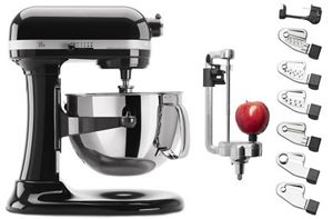 Exclusive Bowl-Lift Stand Mixer & Spiralizer Attachment Set
