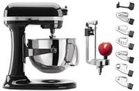 Exclusive Bowl-Lift Stand Mixer & Spiralizer Attachment Set
