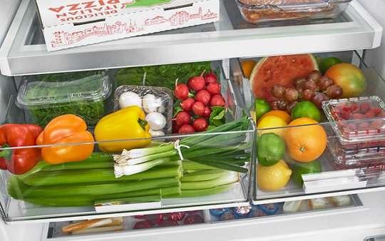 Cajón con filtro FreshFlow™ Produce Preserver