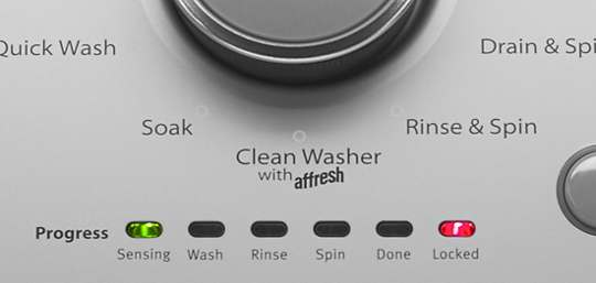 Clean Washer Cycle with affresh® Washer Cleaner