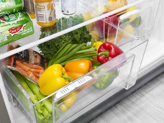 Bacs à légumes à humidité contrôlée