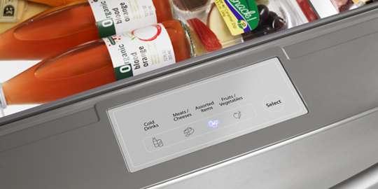 4-Temperature Option Drawer