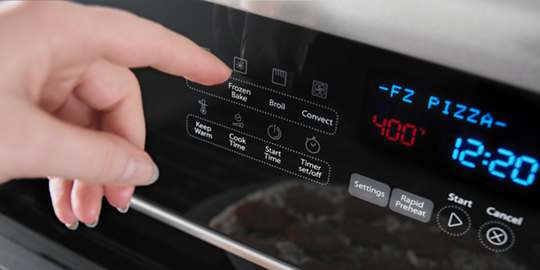 Technologie Frozen Bake™