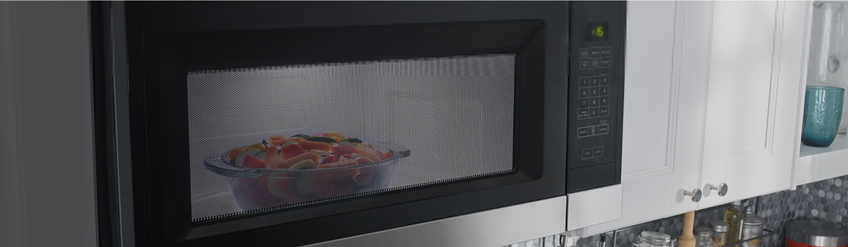 Food in Amana® microwave