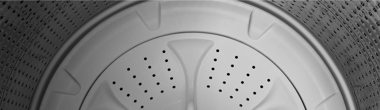 Interior of Amana® washer