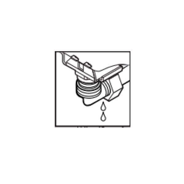 Water valve tightening illustration, part 2