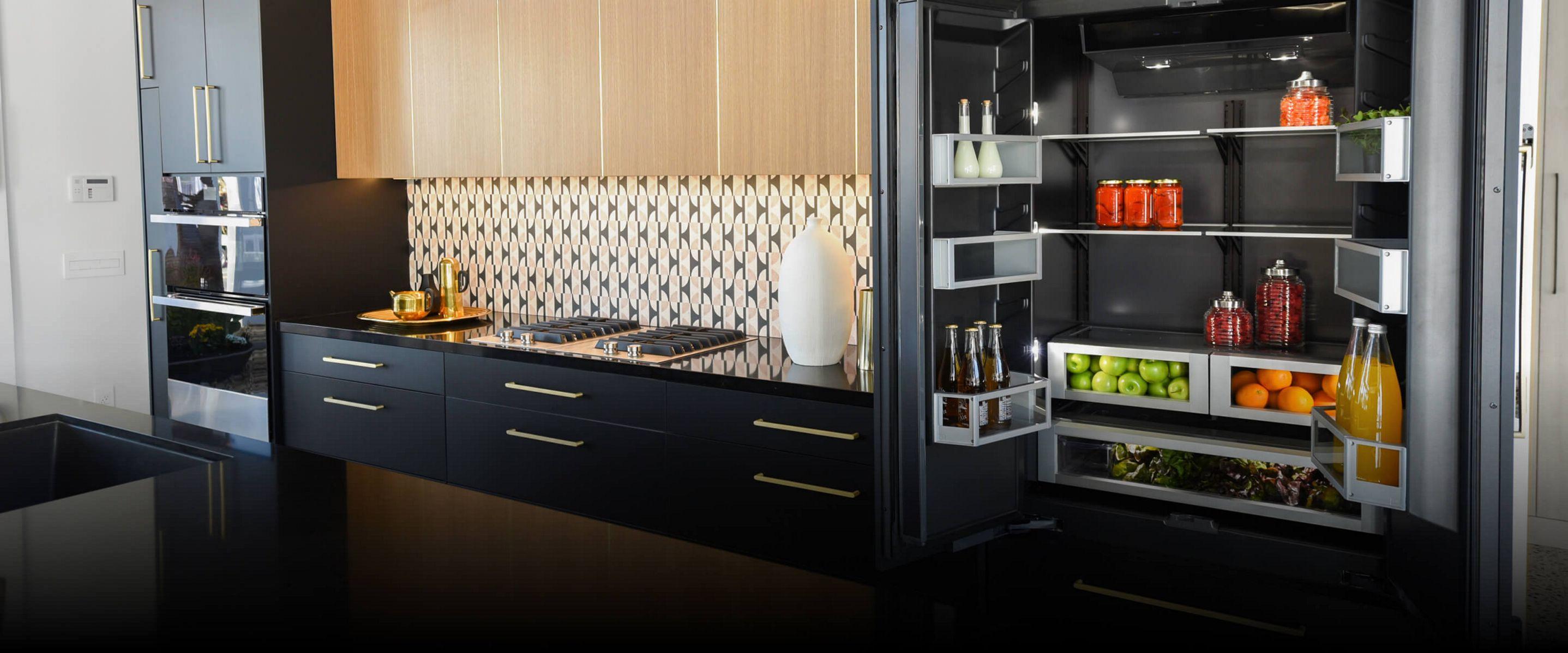JennAir® appliances in a high-end kitchen.