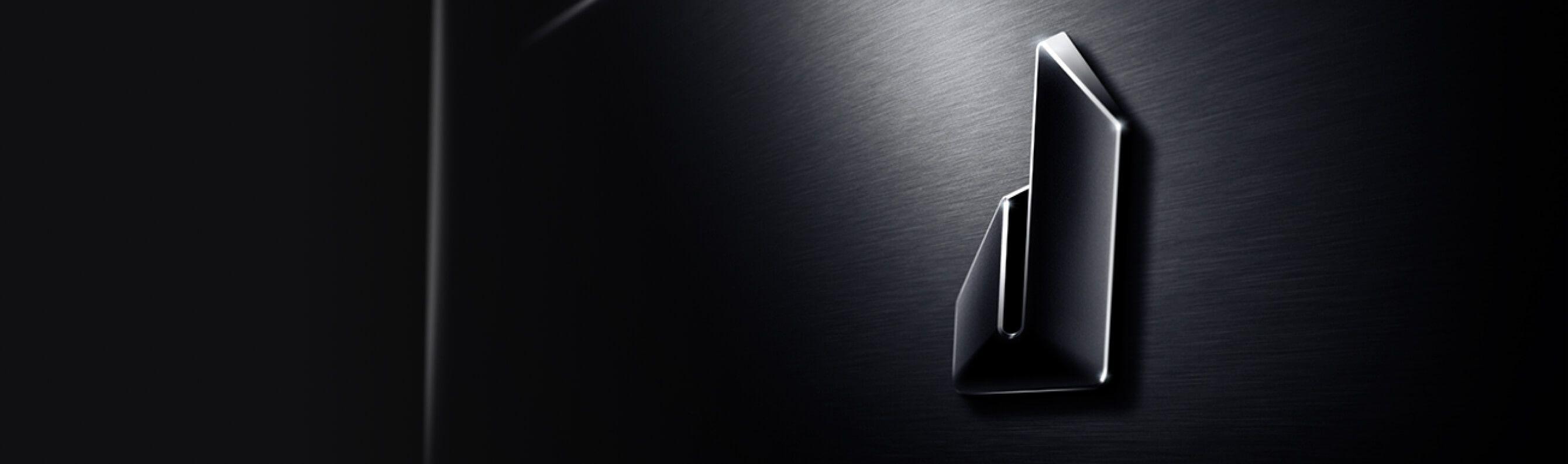 A bold badge on a JennAir® appliance.