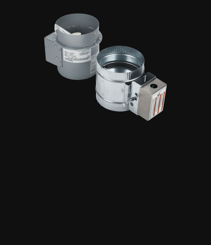 A recirculating kit isolated on a black background.