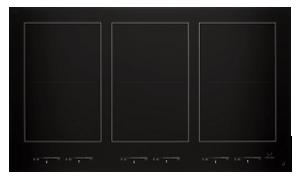 A JennAir® Induction Flex cooktop.