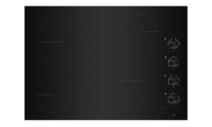 A JennAir® Electric Radiant Cooktop.