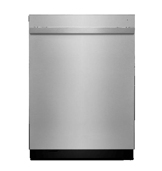 A NOIR™ Design 24-inch dishwasher.