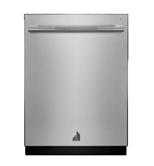 A RISE™ Design 24-inch dishwasher.