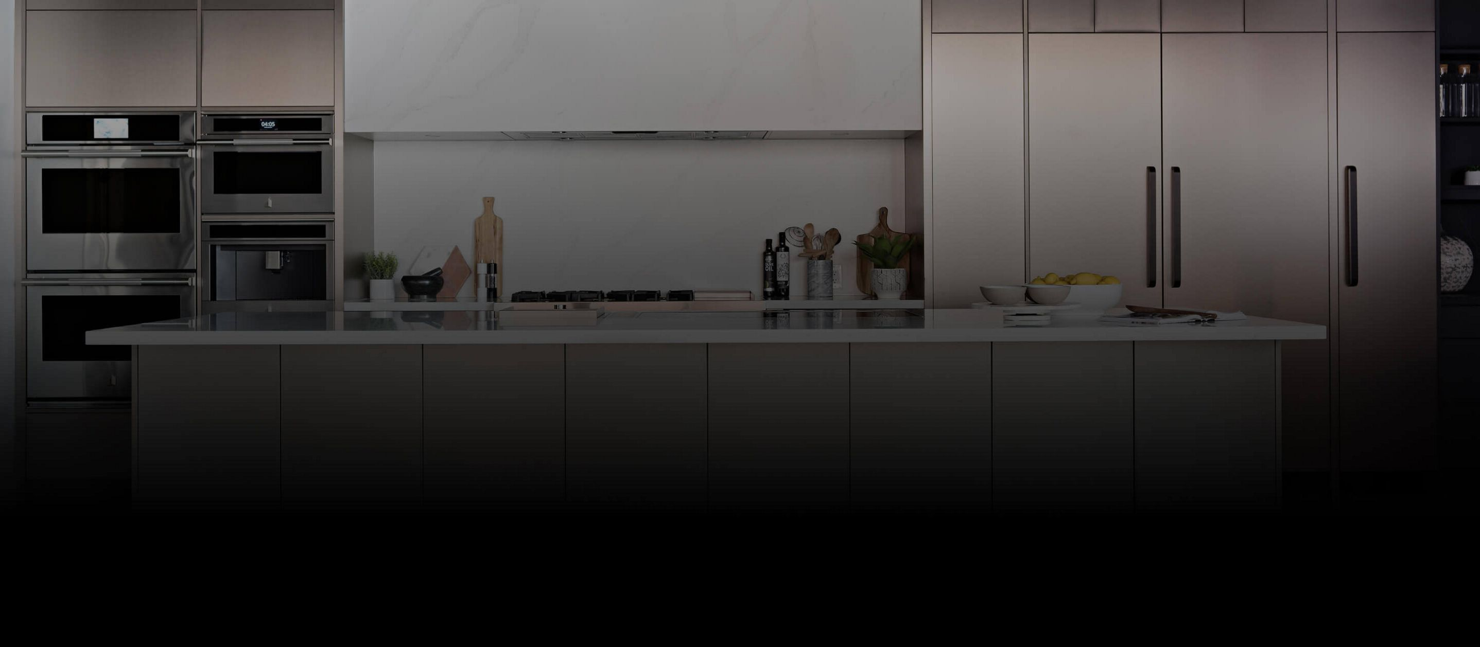 JennAir® appliances installed in a spacious kitchen.