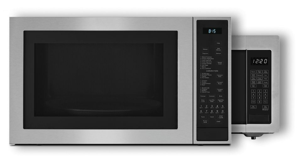 JennAir® Countertop Microwaves in two configurations.