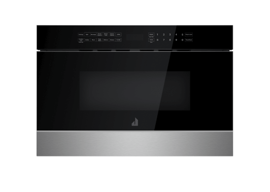"""A 24"""" Under Counter Microwave Oven With Drawer Design."""