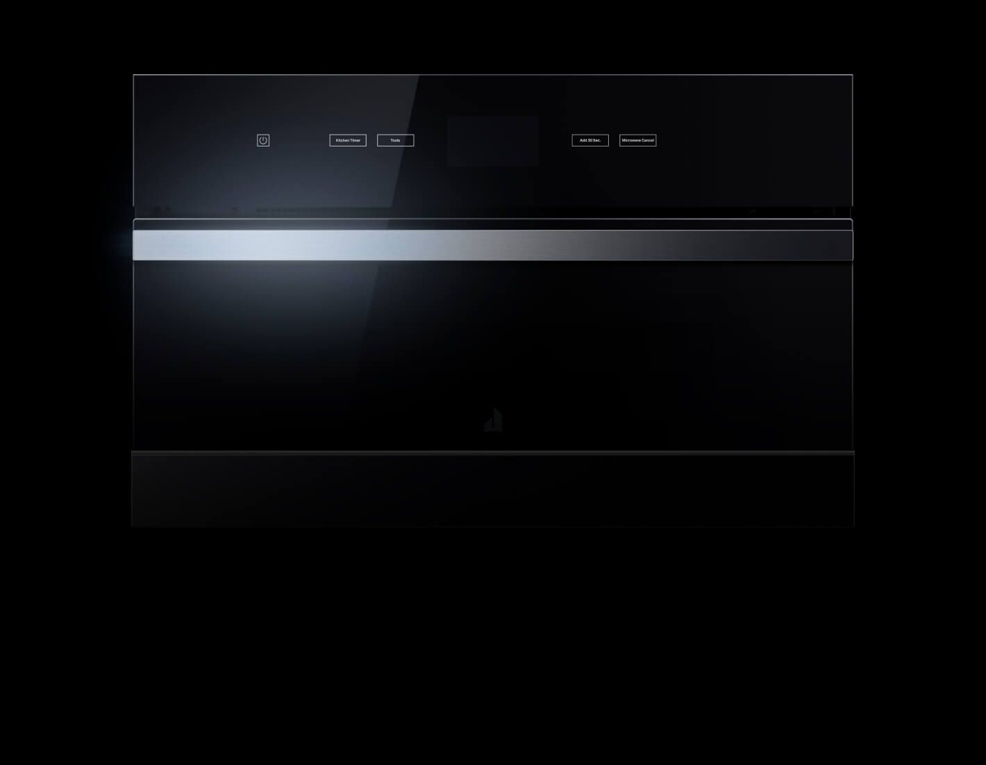 A JennAir® Built-In Microwave in the NOIR™ Design Expression.