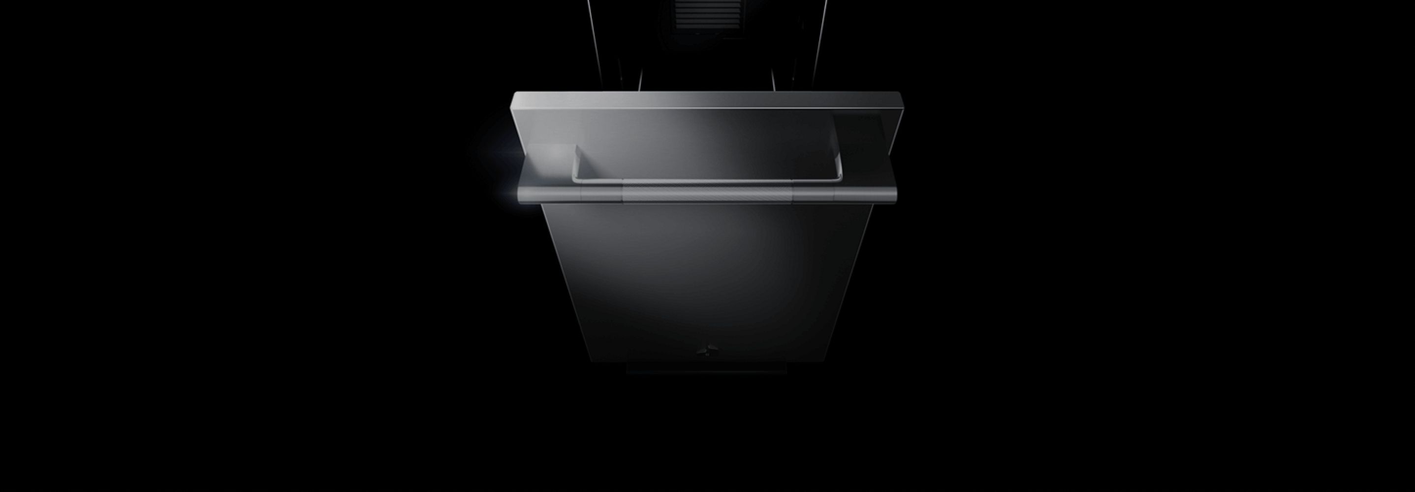 An open JennAir® Trash compactor.