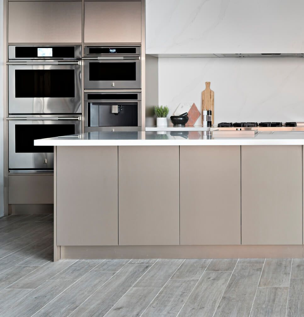 A kitchen filled with JennAir® Appliances.