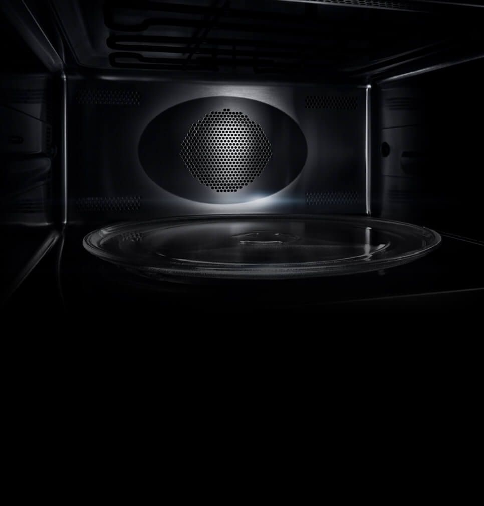 The interior of a JennAir® Speed Oven.